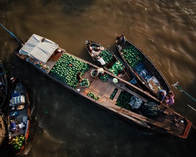 Trong năm 2020, du lịch Đồng bằng Sông Cửu Long không bị ảnh hưởng quá nặng nề do thị trường khách quốc tế không chủ đạo. Khách nội địa tới đây đạt 63% so với năm 2019. Ảnh: Sebastian Hanke.