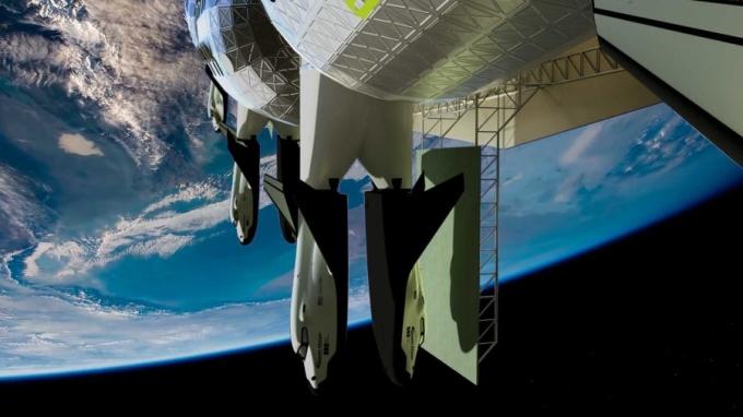 Đơn vị xây dựng khách sạn là Orbital Assembly Corporation, một công ty xây dựng do cựu phi công John Blincow, người cũng đứng đầu Gateway Foundation điều hành. Blincow cho biết vì đại dịch nên thời gian xây dựng khách sạn dự kiến bắt đầu vào năm 2026, mở cửa đón khách vào 2027. Chúng tôi đang cố gắng để công chúng nhận ra rằng thời kỳ hoàng kim của du hành vào không gian đang tới gần. Nó đang đến, và đến rất nhanh thôi, Blincow nói.