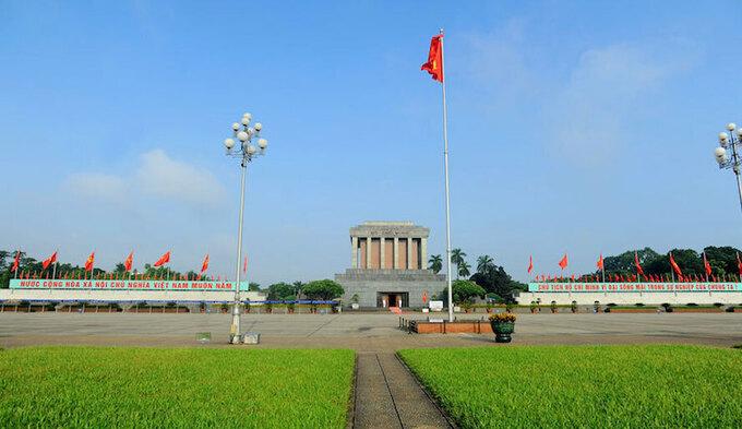 Ho Chi Minh Mausoleum.  Photo: Giang Huy.