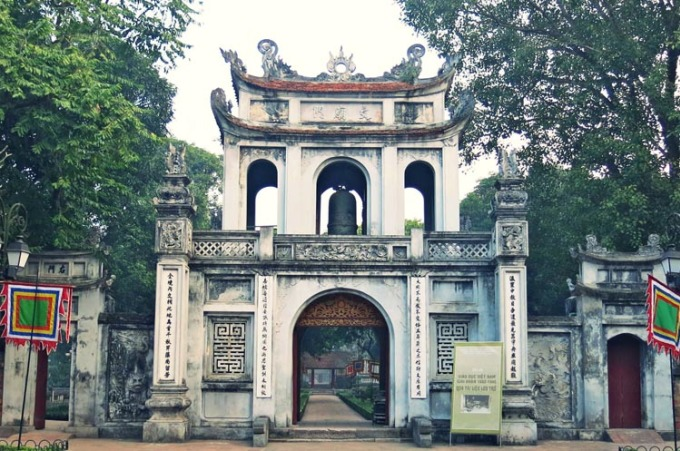 Monuments should visit when coming to Hanoi