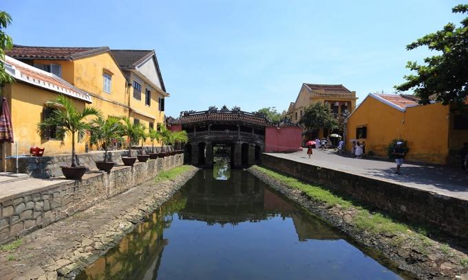 Phố cổ Hội An có hơn 1.000 di tích có kiến trúc gỗ. Ảnh: Sơn Thủy.