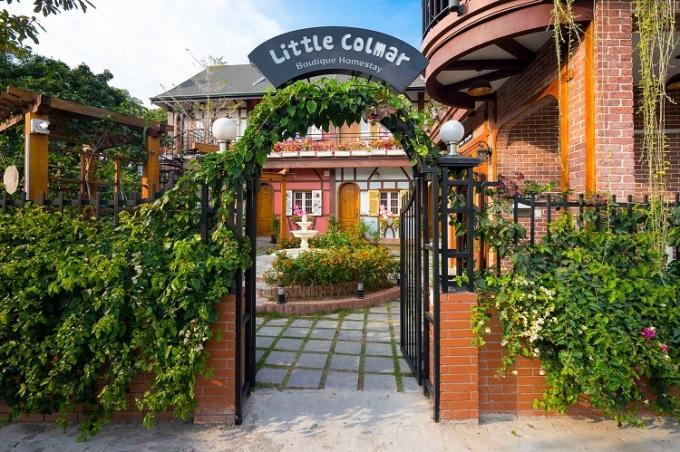 Homestay như một khu vườn cổ tích nằm giữa thành phố biển Hạ Long. Ảnh: Little Colmar Boutique Homestay