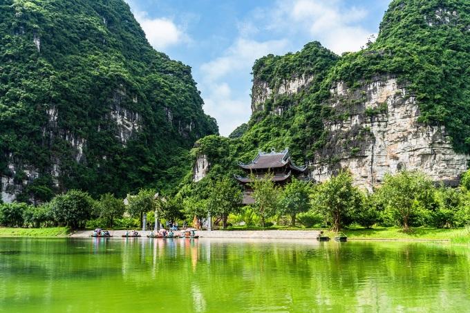 Ninh Bình đăng cai Năm Du lịch Quốc gia 2021. Ảnh: Ngân Dương.