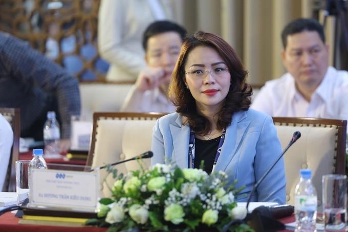 Bà Hương Trần Kiều Dung – Phó chủ tịch FLC. Ảnh: Giang Huy