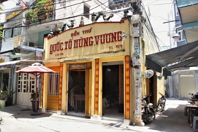 Đền được chỉnh trang làm nơi thờ tự Quốc tổ Hùng Vương từ năm 1991 đến nay. Ảnh: Huỳnh Nhi