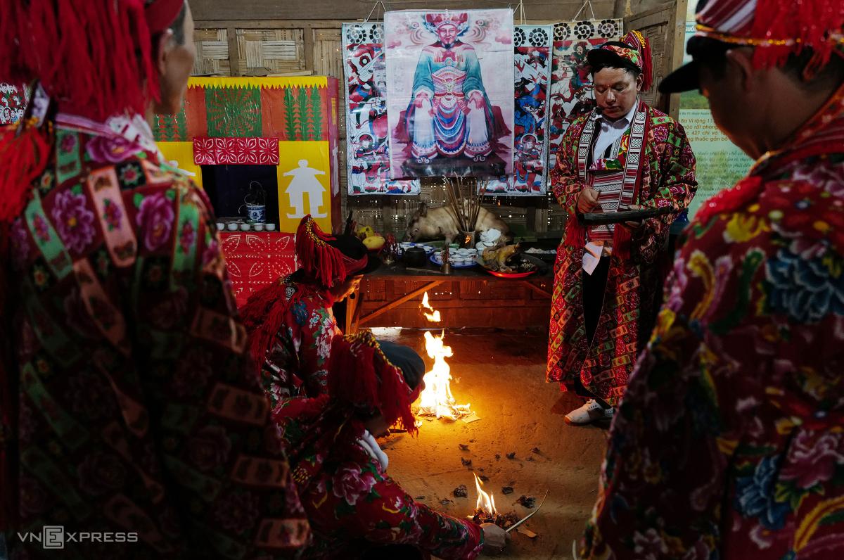 Tái hiện lễ hội Bàn Vương của người Dao tại Hà Nội - Ảnh 4