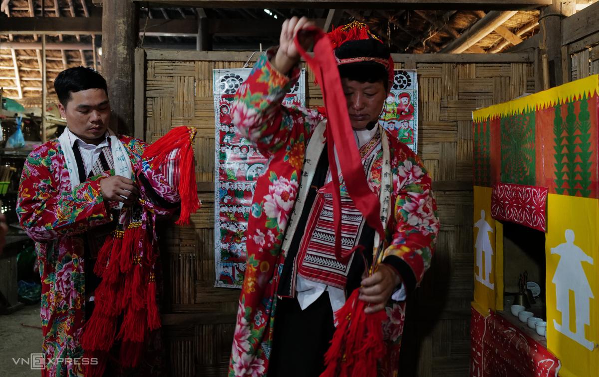 Tái hiện lễ hội Bàn Vương của người Dao tại Hà Nội - Ảnh 10