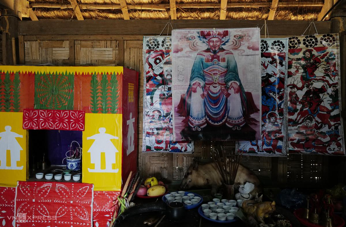 Tái hiện lễ hội Bàn Vương của người Dao tại Hà Nội - Ảnh 1
