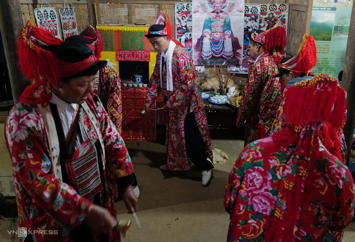 Tái hiện lễ hội Bàn Vương của người Dao tại Hà Nội - Ảnh 3