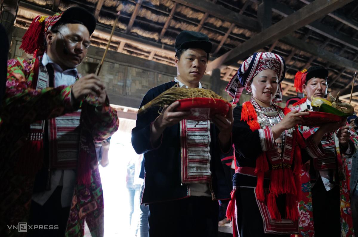 Tái hiện lễ hội Bàn Vương của người Dao tại Hà Nội - Ảnh 5