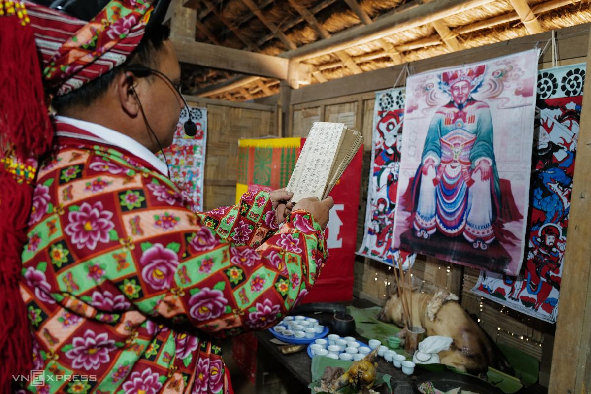 Tái hiện lễ hội Bàn Vương của người Dao tại Hà Nội - Ảnh 6