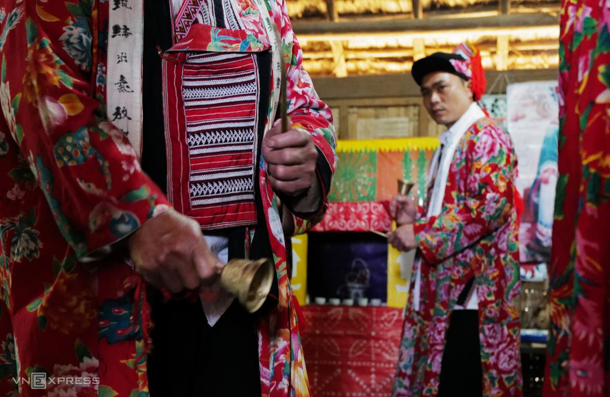 Tái hiện lễ hội Bàn Vương của người Dao tại Hà Nội - Ảnh 7