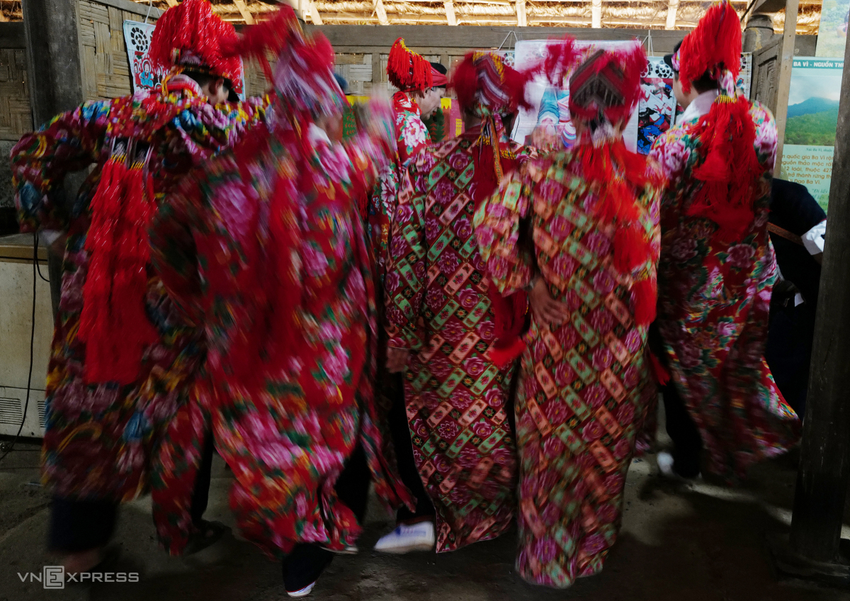 Tái hiện lễ hội Bàn Vương của người Dao tại Hà Nội - Ảnh 8