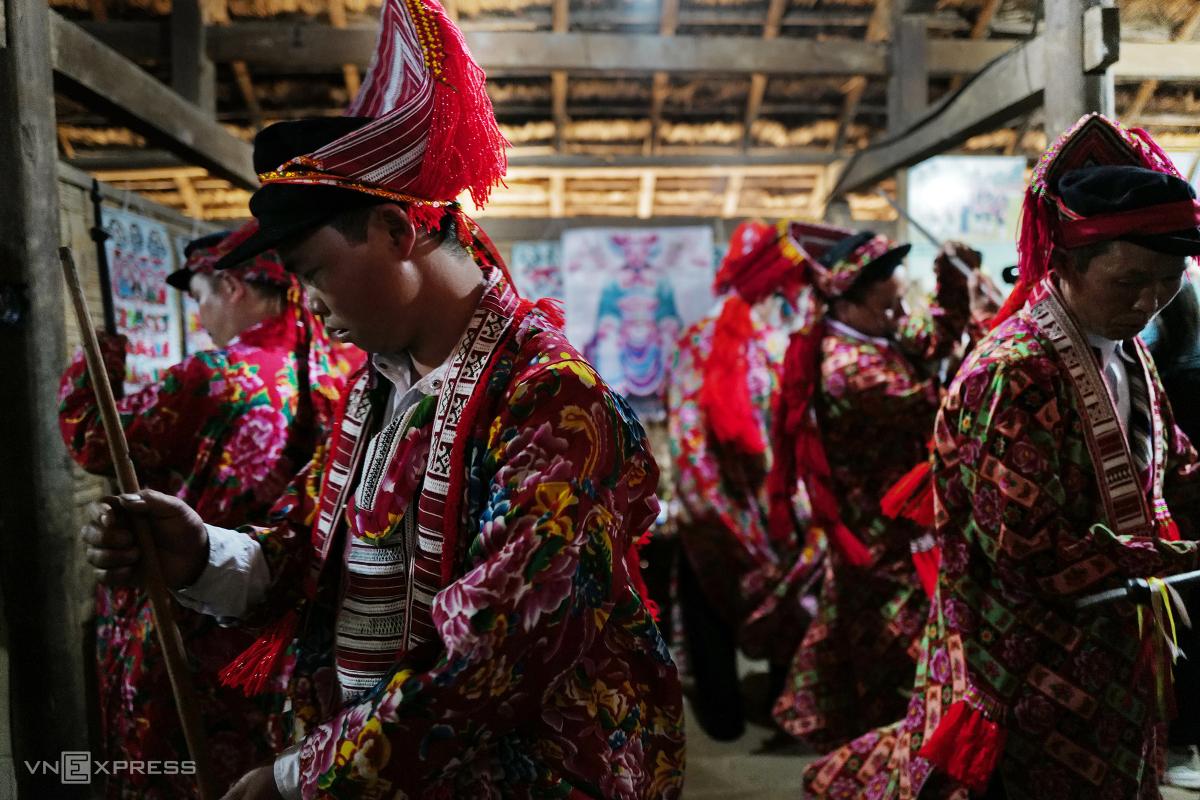 Tái hiện lễ hội Bàn Vương của người Dao tại Hà Nội - Ảnh 9