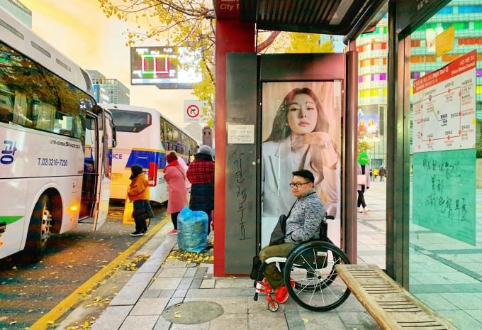 Sau dịch bệnh, anh mong muốn được đi du lịch trở lại, khám phá cảnh đẹp Việt Nam nhưng với cách nhẹ nhàng hơn. Ảnh trên được chụp tại Hàn Quốc. Ảnh: NVCC.