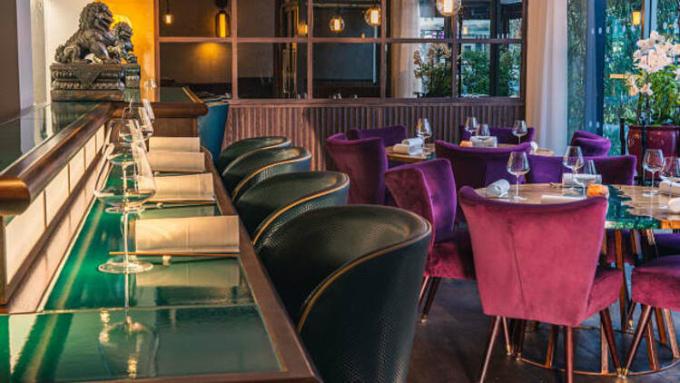 Nhà hàng A Wong đạt 2 sao Michelin nằm ở London, Anh. Ảnh: Murray Wilson/A Wong