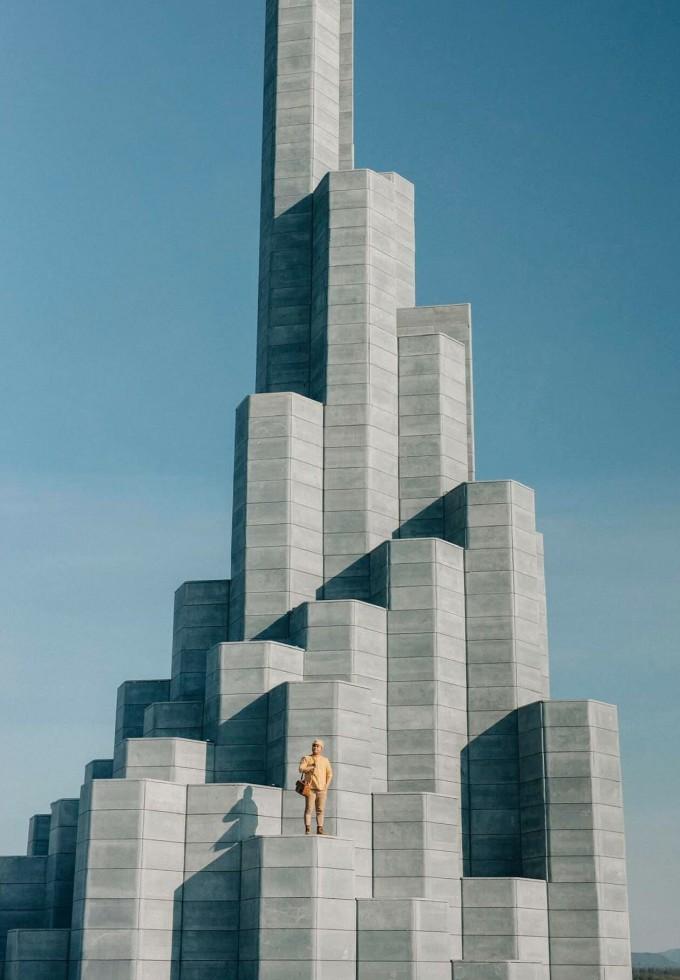 [Caption]Tháp Nghinh Phong