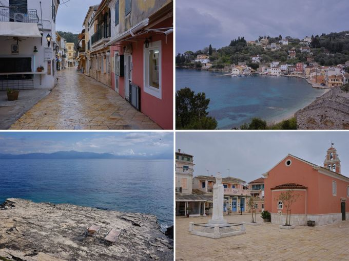 Đảo  Paxos, Hy Lạp vắng khách du lịch do Covid-19. Ảnh: LouLou Daki/Bloomberg
