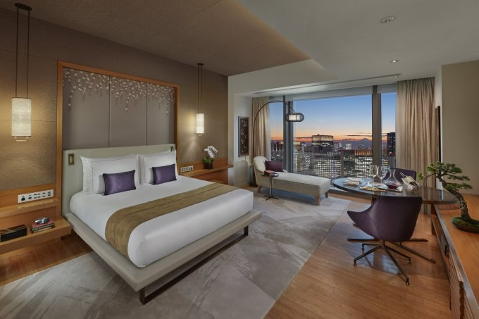 Một căn phòng của khách sạn 5 sao Mandarin Oriental Tokyo. Ảnh: Mandarin Oriental Tokyo