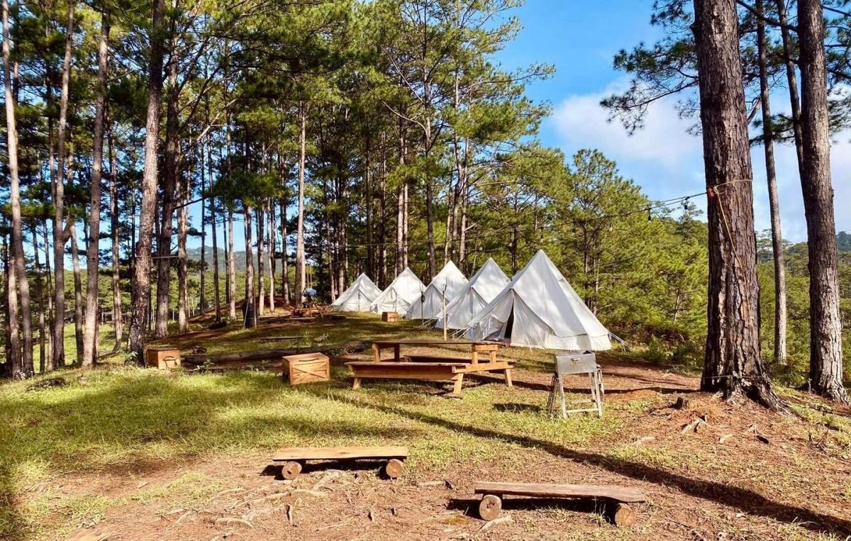 5 điểm cắm trại sang chảnh ở Việt Nam - Ảnh 7