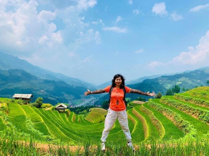 Với bà Vân, sau khi đã vượt qua được giới hạn của bản thân như leo thành công Tà Xùa thì các cung đường khác sẽ trở nên dễ dàng hơn.