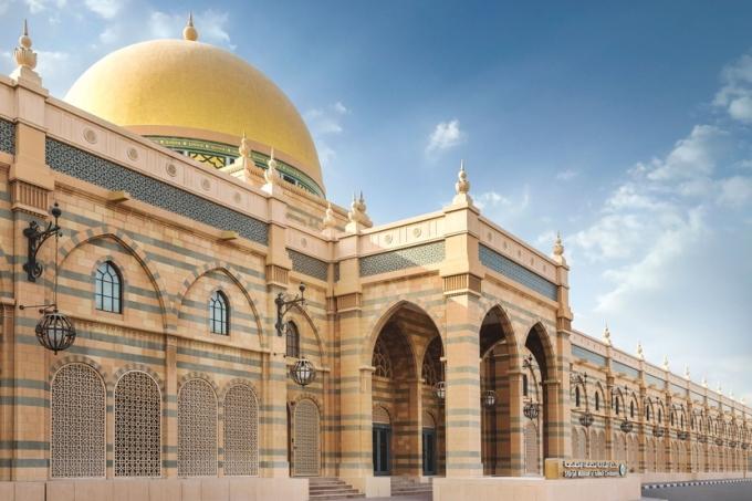 Tiểu vương Sharjah được UNESCO vinh danh là Thủ đô văn hóa của thế giới Ả Rập năm 1998. Ảnh: AD