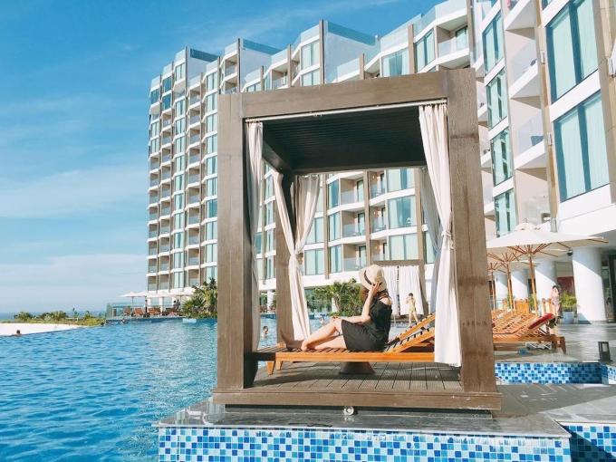 Du lịch gần, du khách thường có thể tận hưởng kỳ nghỉ an toàn với lịch trình và chi phí tối ưu (Ảnh: FLC Sầm Sơn)