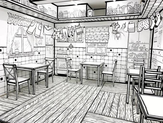 Quán cà phê như phim hoạt hình 2D ở Nga - 6