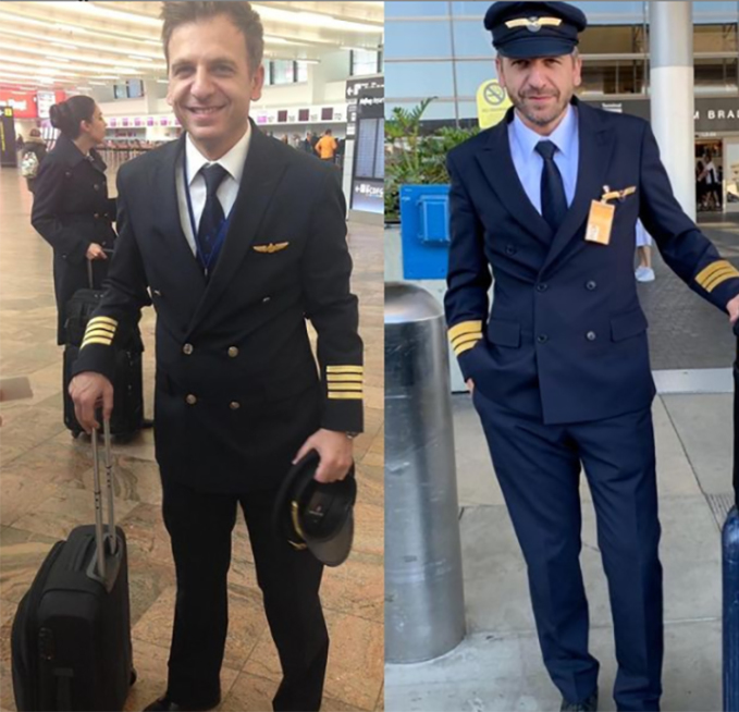 Alper làm việc cho hãng Turkish Airlines còn Enis đầu quân cho Lufthansa. Ảnh: Instargram