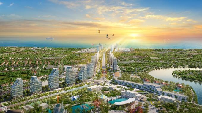 Phối cảnh đại dự án đô thị phức hợp Sun Grand Boulevard
