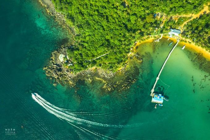 Vẻ đẹp biển đảo Phú Quốc. Ảnh: Ngô Trần Hải An