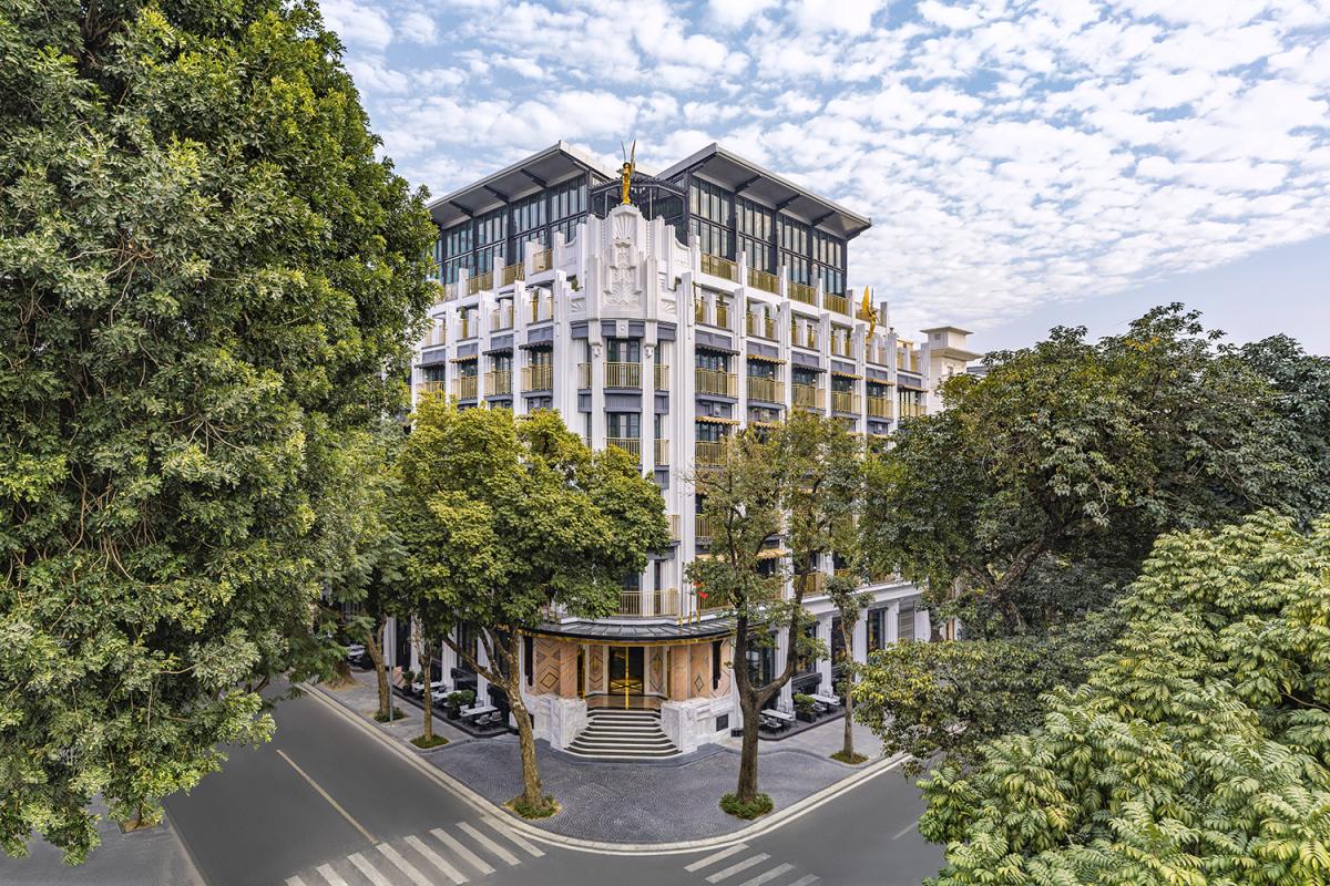 Khách sạn ở Hà Nội của KTS 'phù thuỷ' Bensley lên báo Mỹ - Ảnh 1