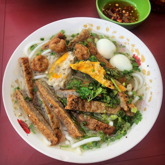 Bánh canh chả cá Ảnh: @uyenphuong_uyenphuong/Instagram