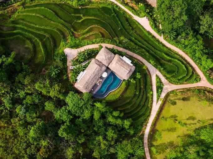 Vị trí biệt lập, số phòng không nhiều và cách xa nhau là điểm hút khách ở các khu nghỉ dưỡng. Ảnh: Avana Retreat